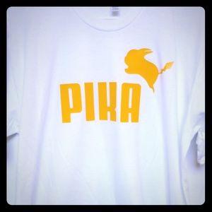 Pokemon Pikachu Pika shirt (Pump parody)